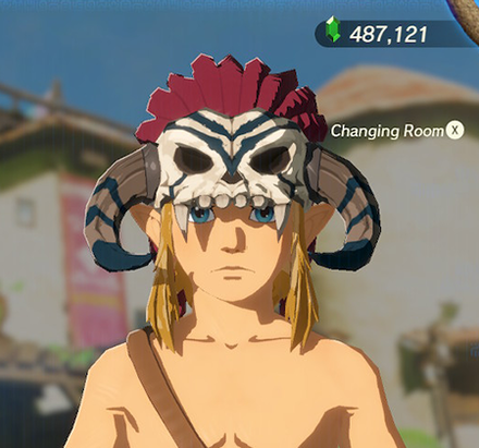 Barbarian Helm Navy