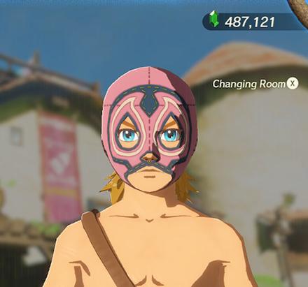 Radiant Mask Peach