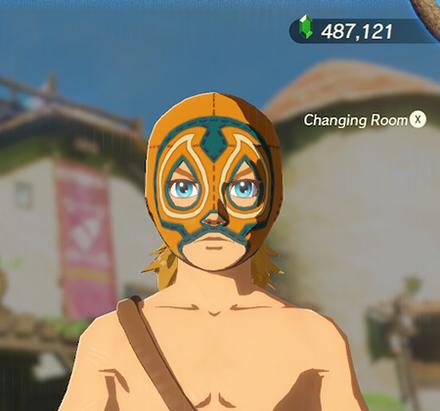 Radiant Mask Orange