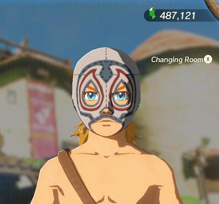 Radiant Mask White