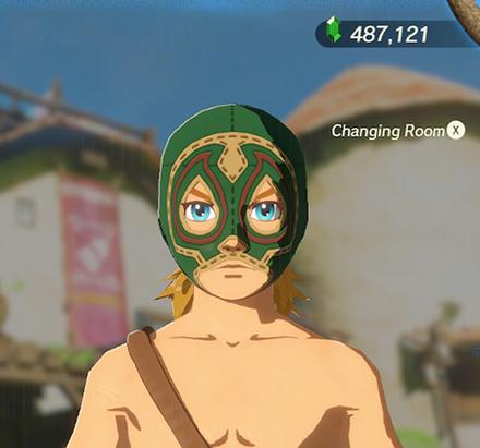 Radiant Mask Green