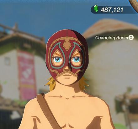 Radiant Mask Crimson