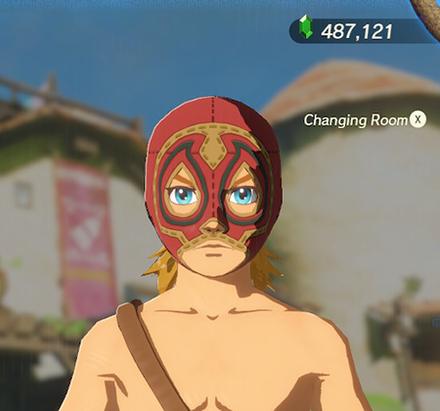 Radiant Mask Red