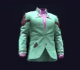 Cyan Multiresist Evening Jacket