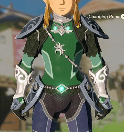 Zora Armor Green