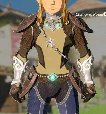 Zora Armor Light Yellow
