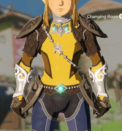 Zora Armor Yellow