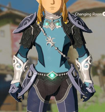 Zora Armor Light Blue