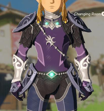 Zora Armor Purple