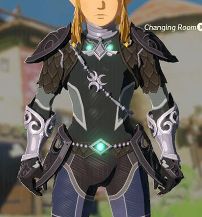 Zora Armor Black