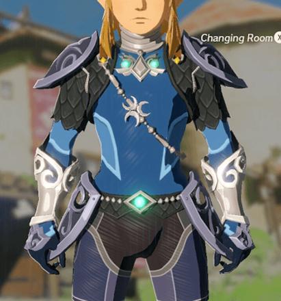 Zora Armor Blue