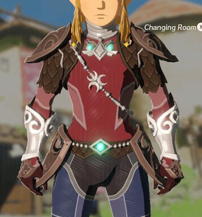 Zora Armor Crimson