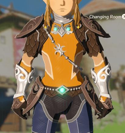 Zora Armor Orange