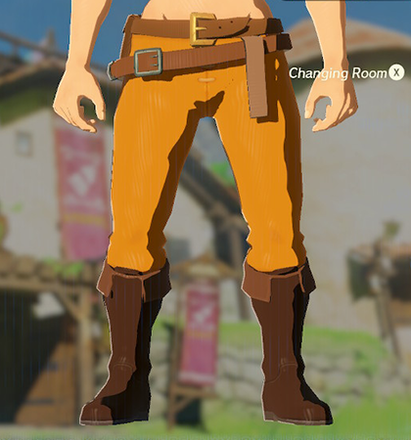 Hylian Trousers Orange
