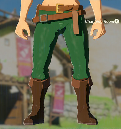 Hylian Trousers Green