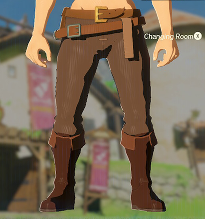 Hylian Trousers Brown