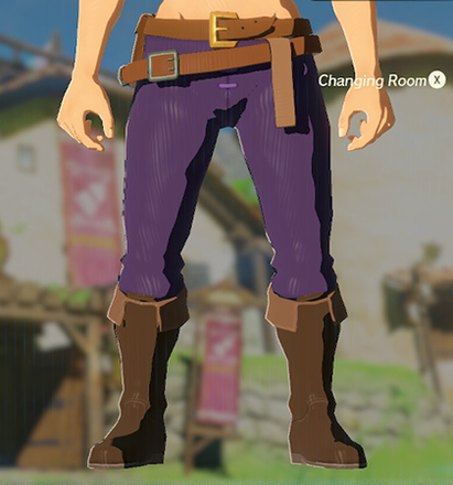 Hylian Trousers Purple