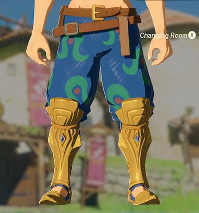Desert Voe Trousers Blue