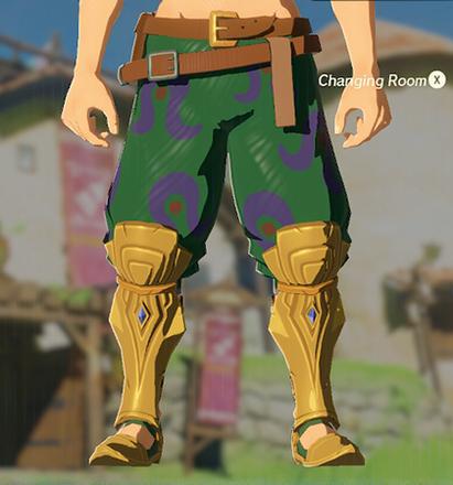 Desert Voe Trousers Green