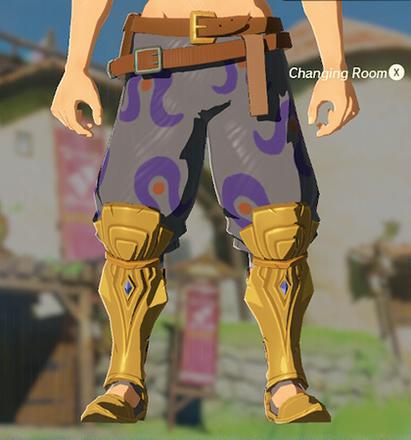 Desert Voe Trousers Gray