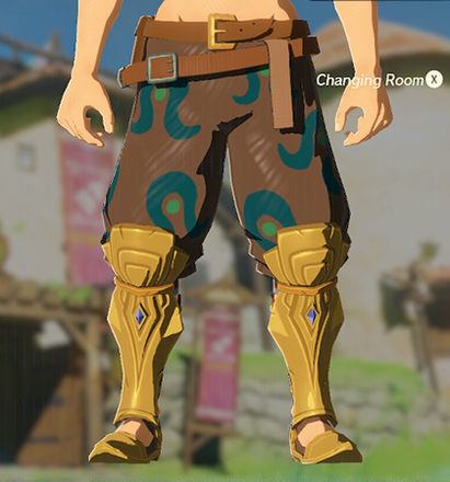 Desert Voe Trousers Brown