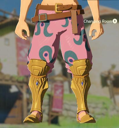 Desert Voe Trousers Peach