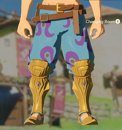 Desert Voe Trousers Light Blue