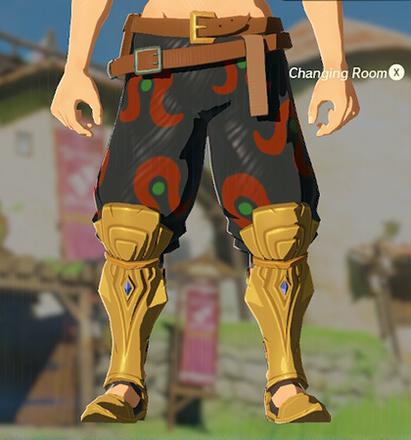 Desert Voe Trousers Black