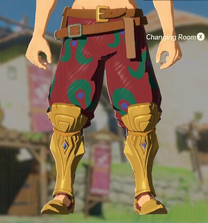 Desert Voe Trousers Crimson