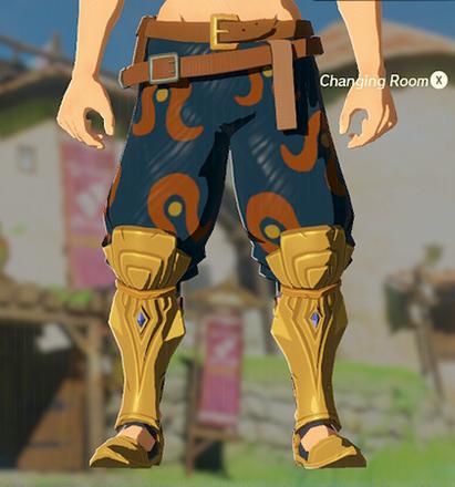 Desert Voe Trousers Navy