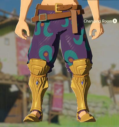 Desert Voe Trousers Purple
