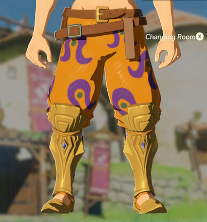 Desert Voe Trousers Orange
