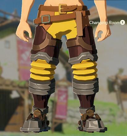 Flamebreaker Boots Yellow