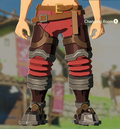 Flamebreaker Boots Red