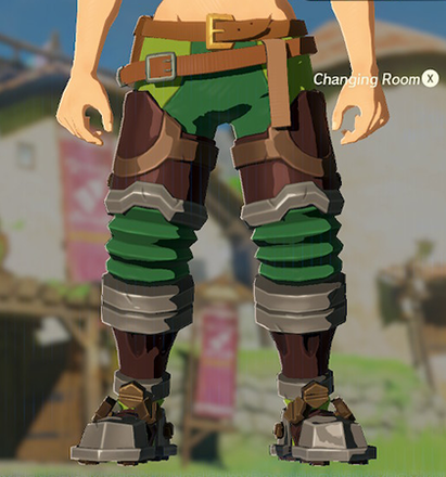 Flamebreaker Boots Green