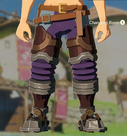 Flamebreaker Boots Purple