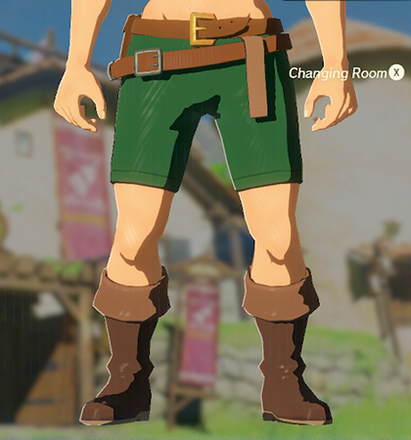 Trousers of the Wild Green