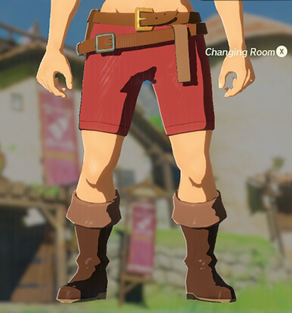 Trousers of the Wild Red