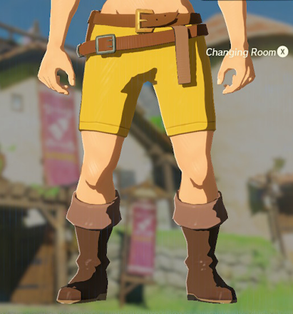 Trousers of the Wild Yellow