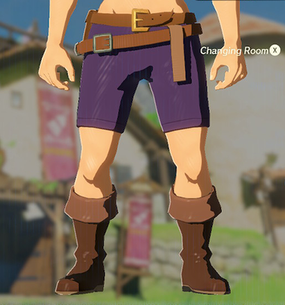 Trousers of the Wild Purple