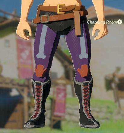 Radiant Tights Purple