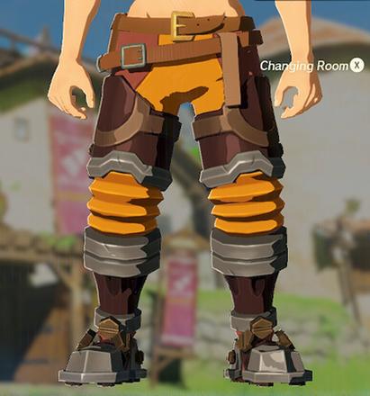 Flamebreaker Boots Orange