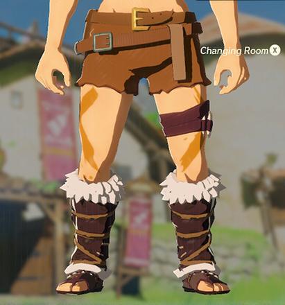 Barbarian Leg Wraps Orange
