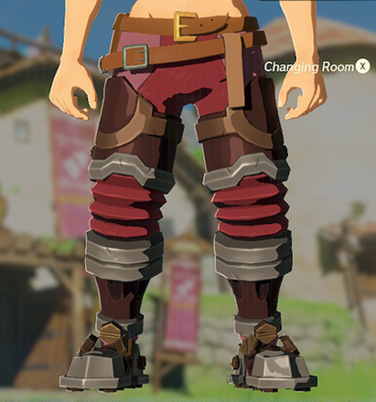 Flamebreaker Boots Crimson