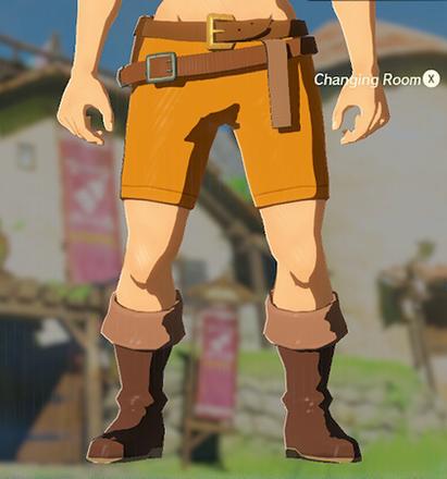 Trousers of the Wild Orange