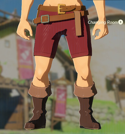 Trousers of the Wild Crimson