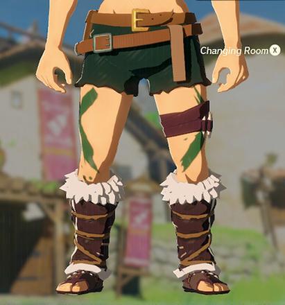 Barbarian Leg Wraps Green