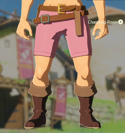 Trousers of the Wild Peach