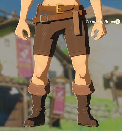 Trousers of the Wild Brown