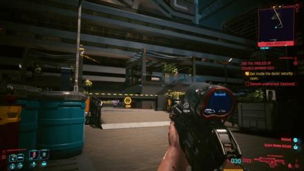 Cyberpunk 2077 - Get inside the dock